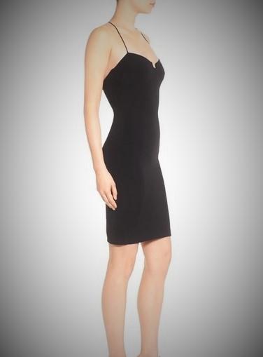 Kendall + Kylie - Enigma Bustier Bodycon Dress, Black