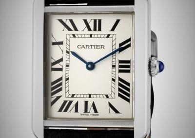 Timeless Cartier Tank